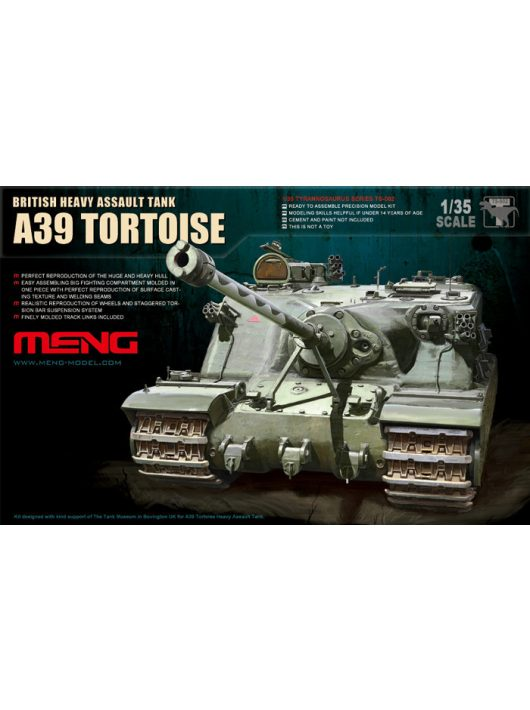 Meng Model - British Heavy Assault Tank A39 Tortoise