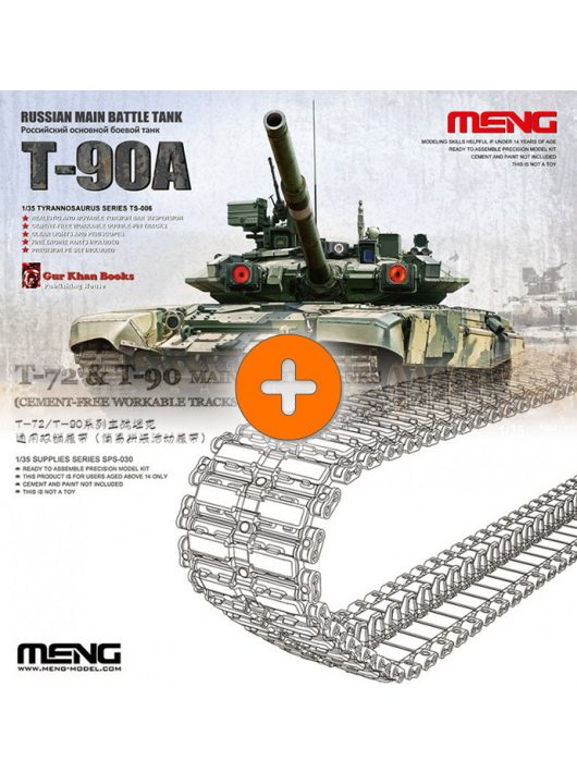 Russian T-90A + double pin track