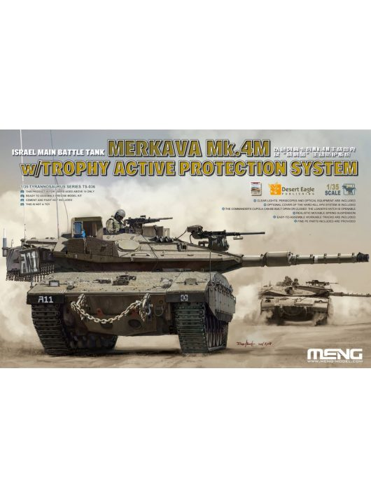 Meng Model - Israel Main Battle Tank Merkava Mk.4M w/Trophy Active Protection Sy