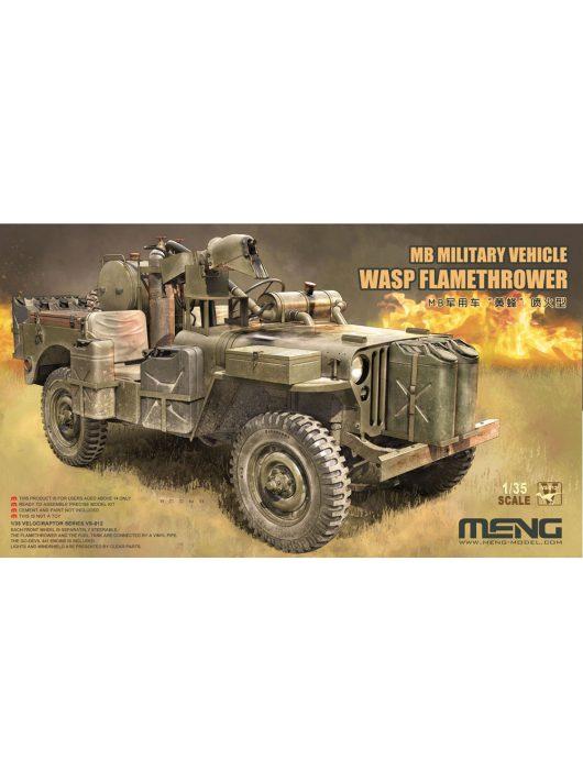 Meng Model - Wasp Flamethrower Jeep