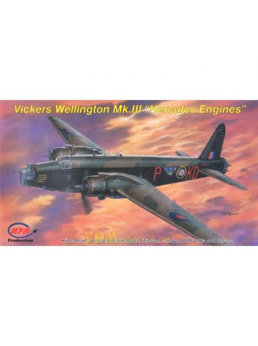 Mpm - Vickers Wellington Mk.III ''Hercules Engines''