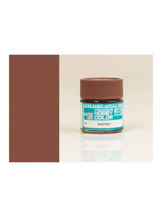 Mr.Hobby - Aqueous Hobby Color H-453 Rust Red
