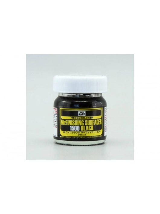 Mr.Hobby - Mr. Finishing Surfacer 1500 Black (40 ml) SF-288