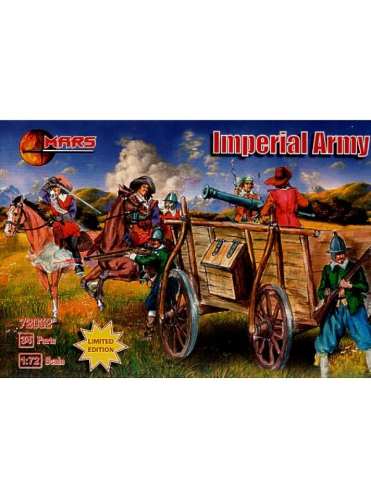Mars Figures - Imperial Army, 30 years war