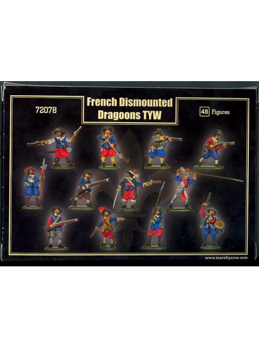 Mars Figures - French Dismount dragoons