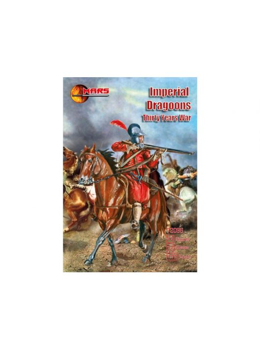 Mars Figures - Imperial dragoons, Thirty Years War