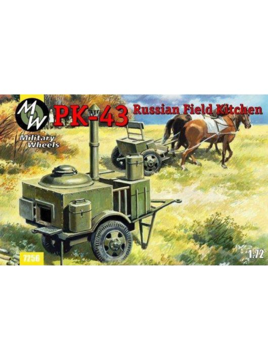 Military Wheels - PK-43 Russian field kitchen