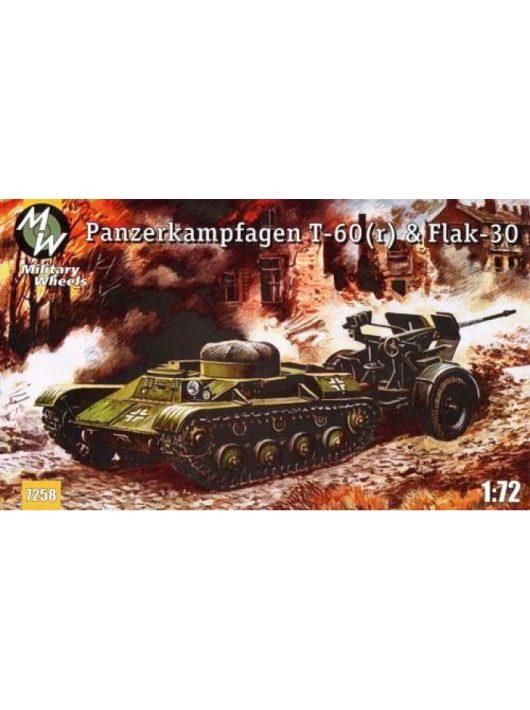 Military Wheels - T-60 & Flak-30