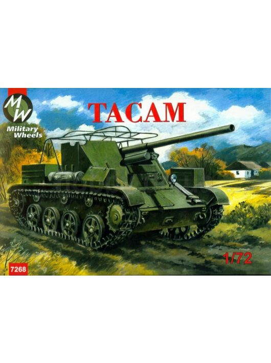 Military Wheels - Tacam self-propelled gun