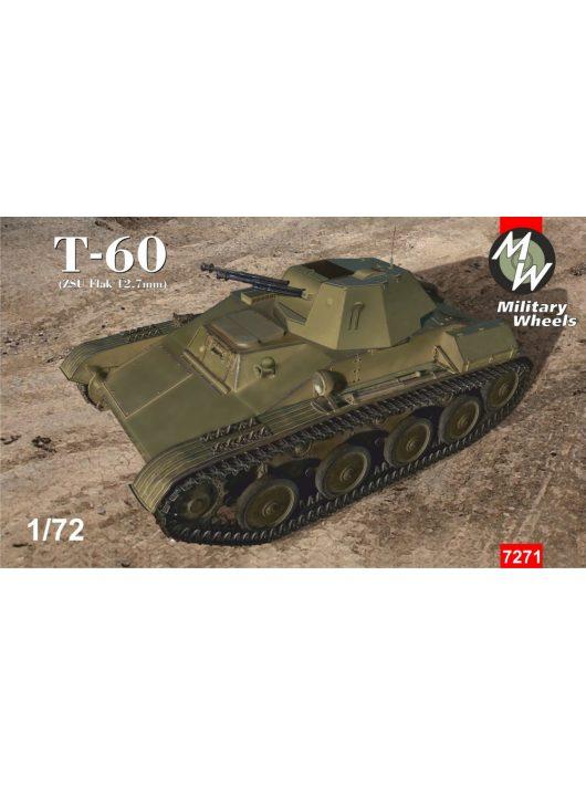 Military Wheels - Tank T-60 (Zsu Flak 12,7 Mm)