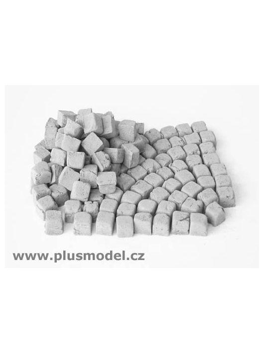 Plus Model - Pflastersteine, klein, Granit