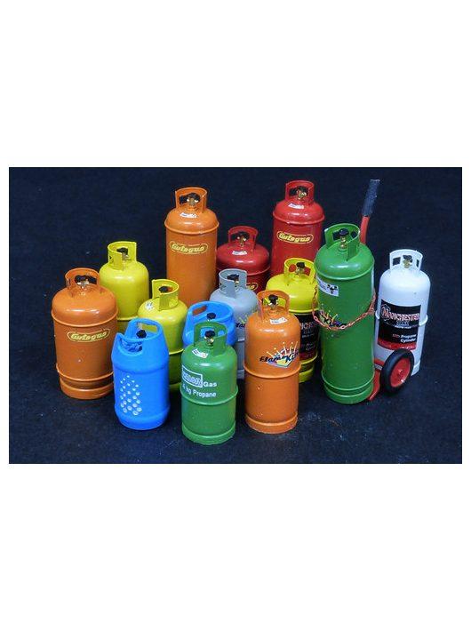 Plus model - Gas bottles big