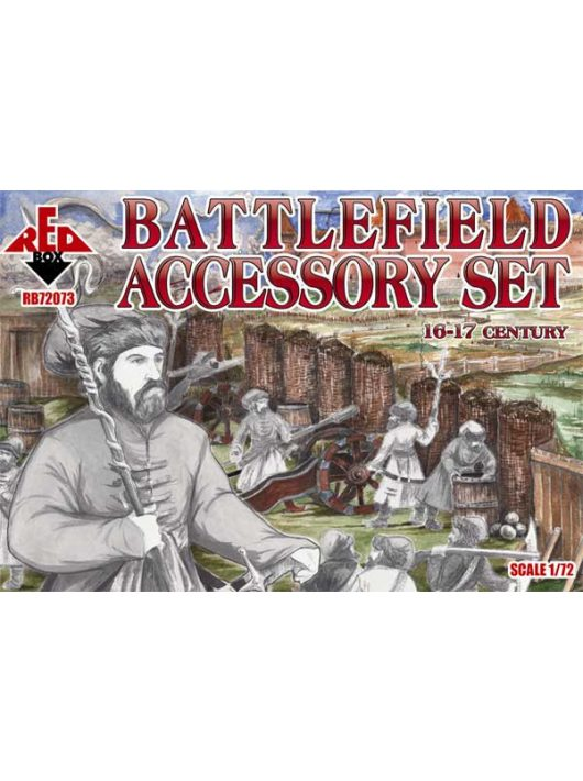 Red Box - Battlefield accessory set,16th-17th cent