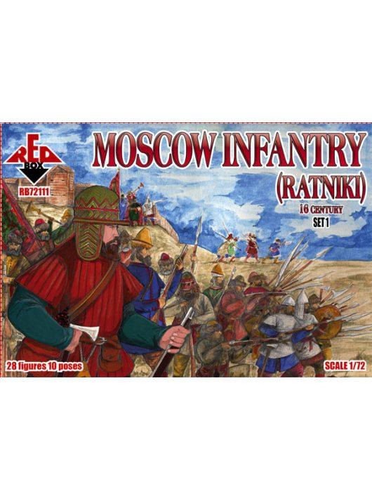 Red Box - Moscow Infantry (Ratniki)16 Cent.,Set 1