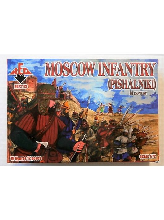 Red Box - Moscow Infantry (Pishalniki) 16 Century