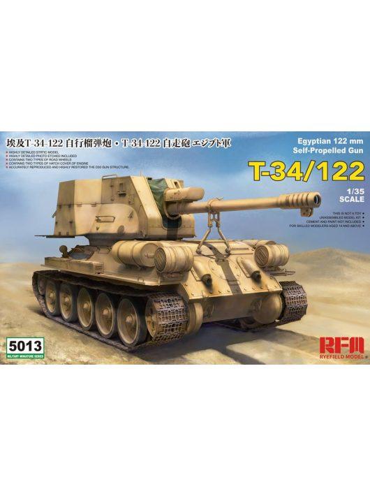Rye Field Model - T-34/122 Egyptian