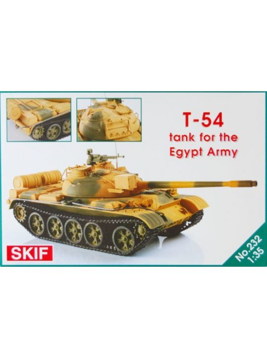 Skif - T-54 Tank for the Egypt Army