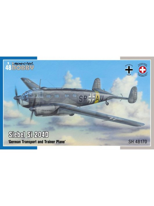 Special Hobby - Siebel Si 204D German Transport and Trainer Plane