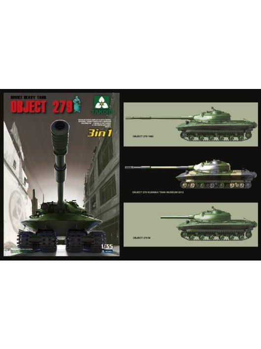 Takom - Soviet Heavy Tank Object 279 (3 in 1)