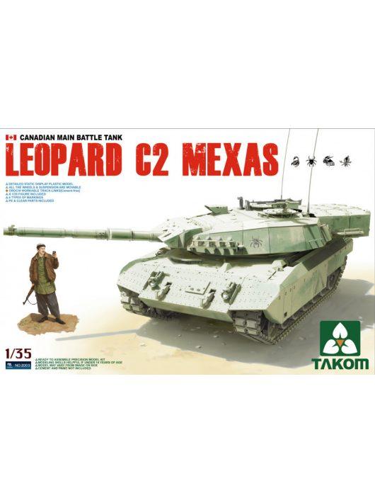 Takom - Canadian MBT Leopard C2 MEXAS