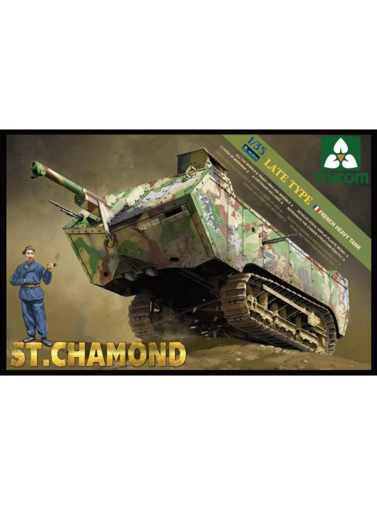 Takom - French HeavyTank St.Chamond Late Type