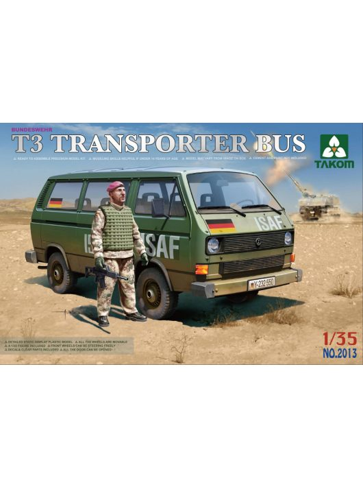 Takom - Bundeswehr T3 Transporter Bus with figure