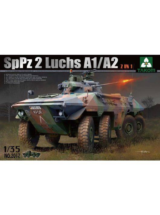 Takom - Bundeswehr SpPz 2 Luchs A1/A2 2 in 1