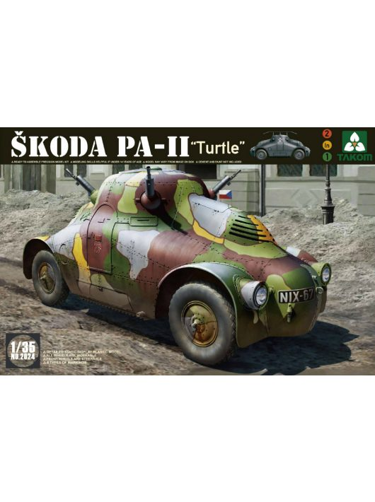 Takom - WWII Skoda PA-II (Turtle)