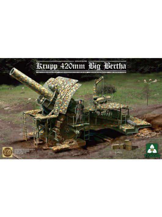 Takom - German Empire 420mm Big Bertha Siege Howitzer