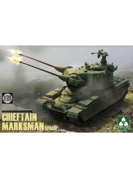Takom - British Air-defense Weapon System Chieftain Marksman SPAAG