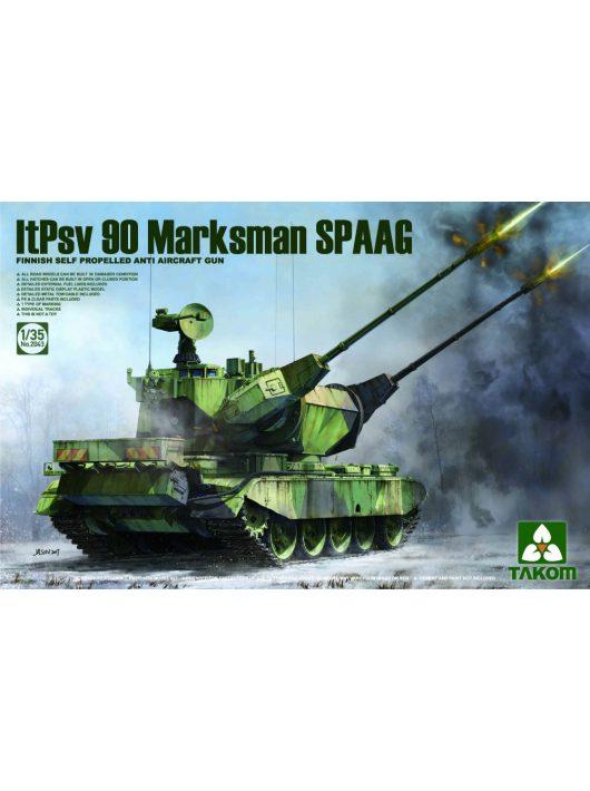 Takom - Finnish Self Propelled Anti Aircraft Gun  ItPsv 90 Marksman SPAAG