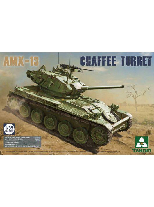 Takom - French Light Tank AMX-13 Chaffe Turret in Algerian War (1954-1962)