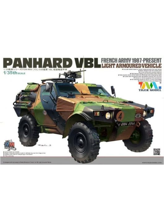 Tigermodel - French Panhard Vbl Light Armoured Vehicl