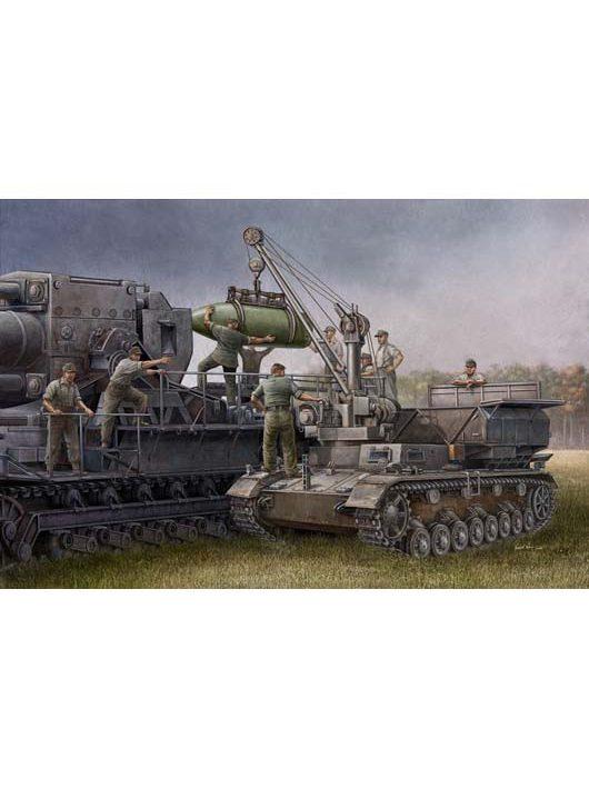 Trumpeter - German Pz.Kpfw Iv Ausf F Fahrgestell