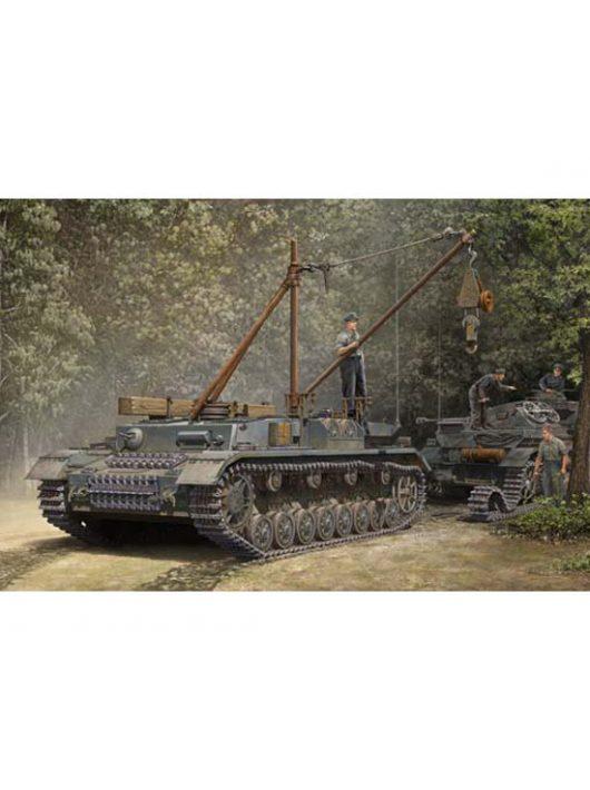 Trumpeter - German Bergepanzer Iv Recovery Vehicle