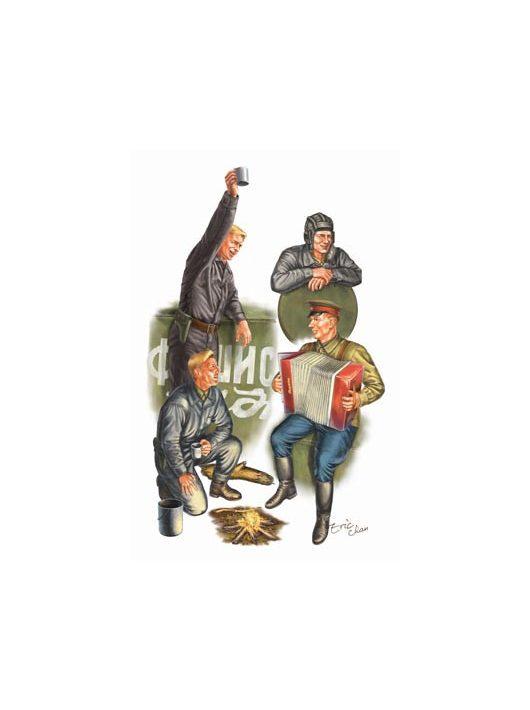 Trumpeter - Wwii Soviets Tank Soldier