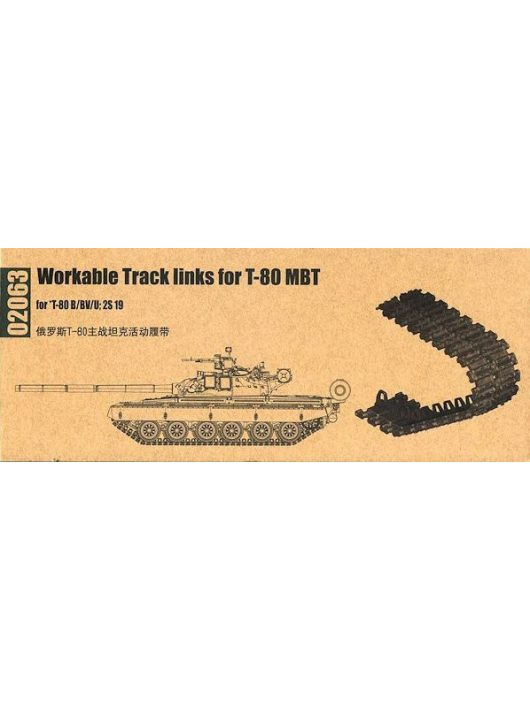 Trumpeter - Workable Track Links Foor S19 Self-Prope