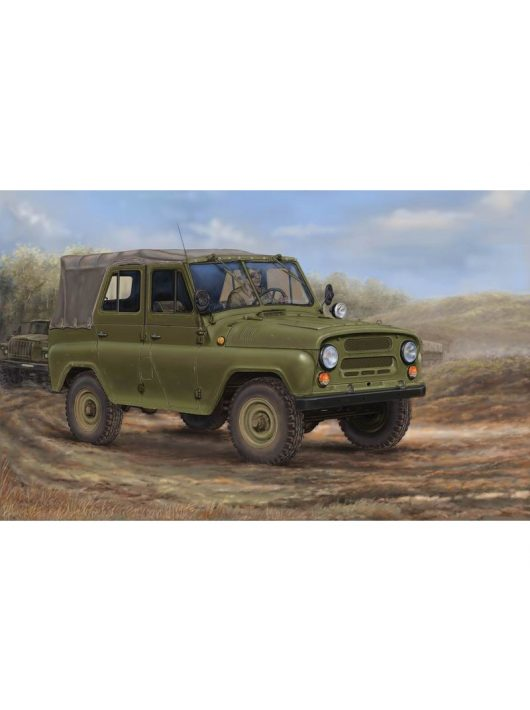 Trumpeter - Soviet Uaz-469 All-Terrain Vehicle
