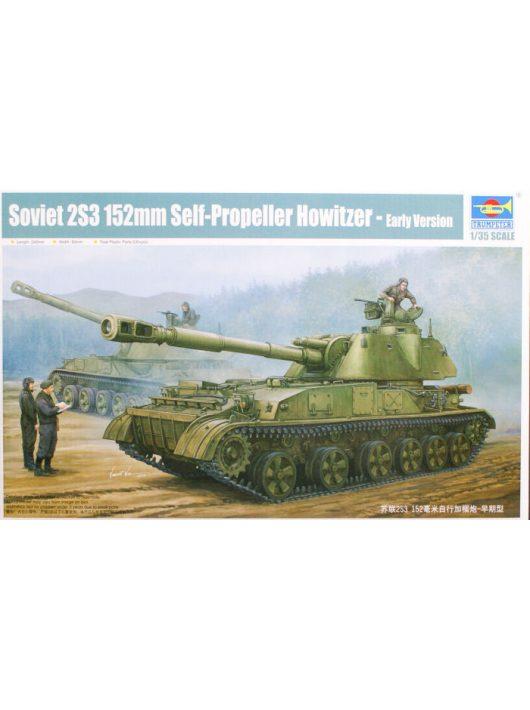 Trumpeter - Soviet 2S3 152Mm Self-Prop.Howitzer Earl