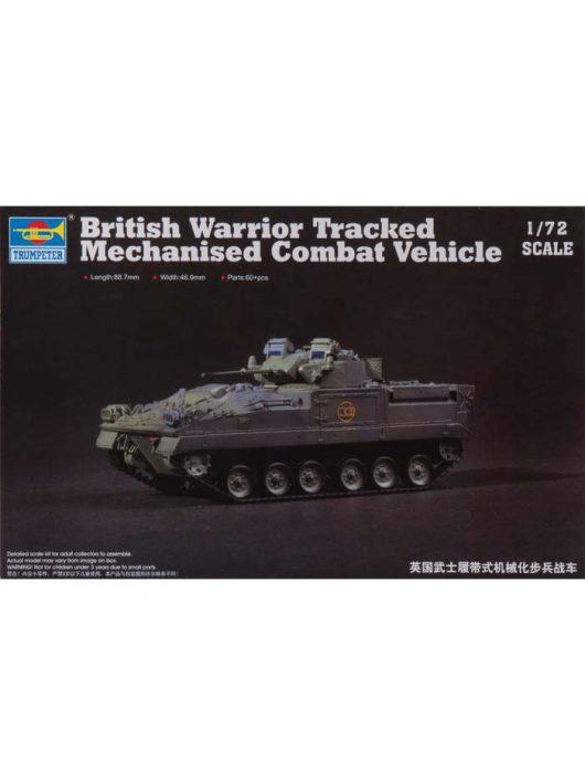 Trumpeter - British Warrior Tracked Mechanized Vehicle