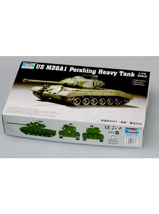 Trumpeter - Us M26A1 Heavy Tank