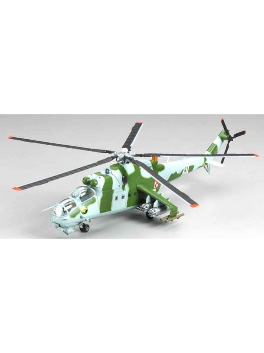 Trumpeter Easy Model - Mi-24 Polish Aif Force No. 741