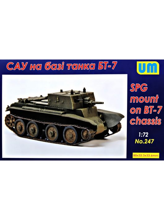 Unimodell - Spg Based On The Bt-7 Chassis