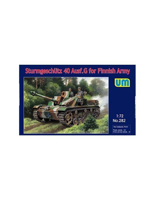 Unimodell - Sturmgeschutz 40 Ausf.G for Finnish Army