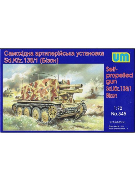 Unimodell - Sd.Kfz 138/1 Bison