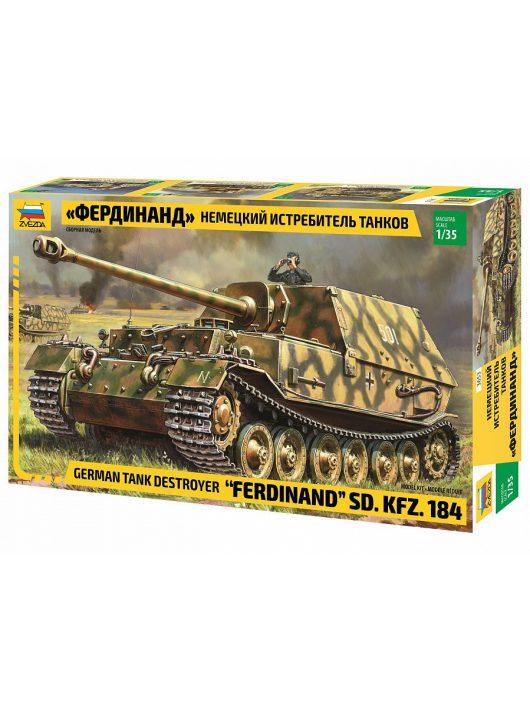 Zvezda - Sd. Kfz. 184 Ferdinand Tiger 1:35 (3653)