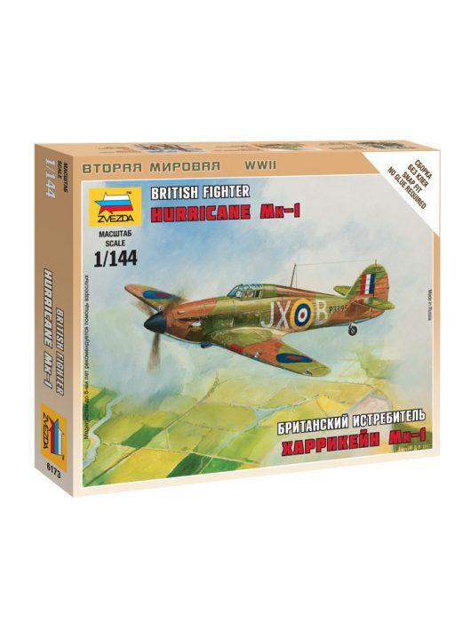 Zvezda - British Fighter 'Hurricane Mk-1' 1:144 (6173)